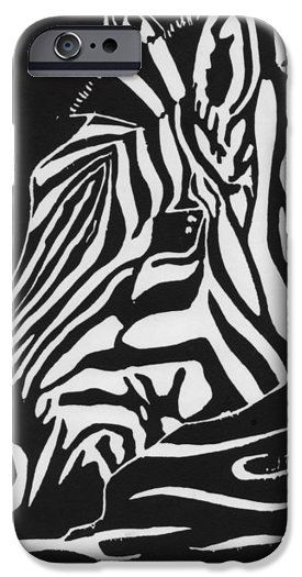 new concept adaab 96af3 Zebra Print Iphone 6 Cases - At The River iPhone 6 Case by Chelsea ...