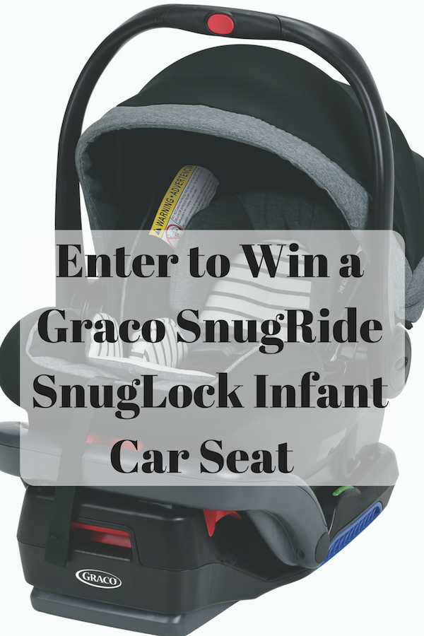Giveaway Win A Gracobaby SnugRide Infant Car Seat US Ends 5 14