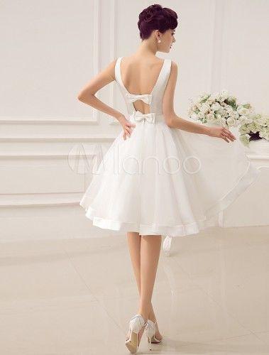 Petite robe de mariee courte