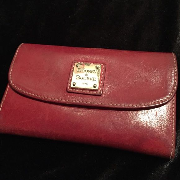 Dooney&Bourke Wallet Beautiful red leather D&B wallet. Dooney & Bourke Bags Wallets