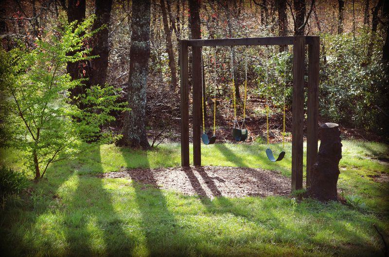 diy swing set frame for the love of backyard swings