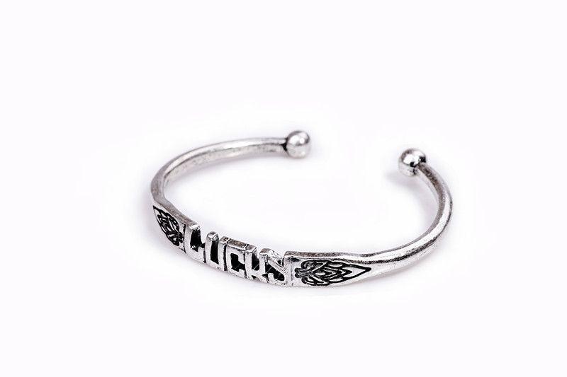 Vintage Silver Lucky Bracelet
