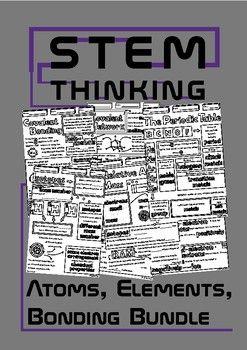 Atoms elements bonding chemistry doodle notes bundle relative atoms elements bonding chemistry doodle notes bundle urtaz Images