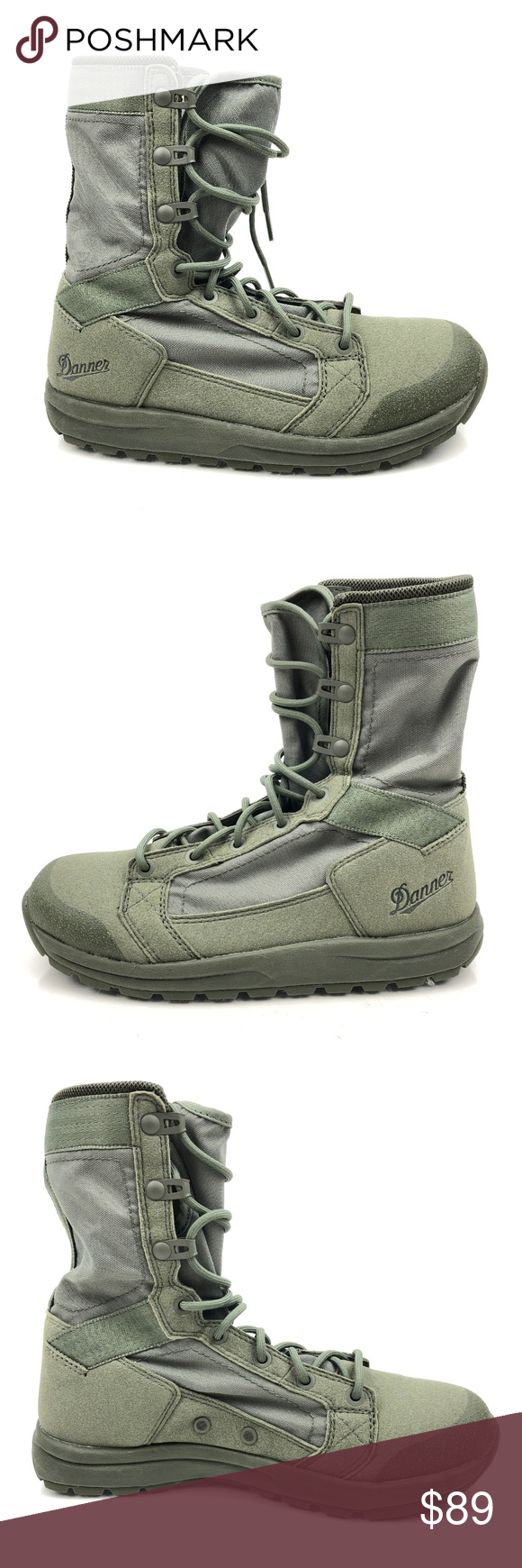 Danner Tachyon Sage Green 8 Combat Boots 50132 In 2020 Combat Boots Boots Shoe Boots