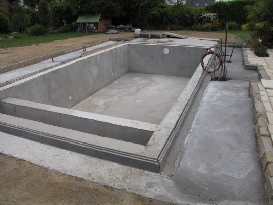 piscine miroir filtration sable plus electroliseur  les photos de - construire sa piscine beton
