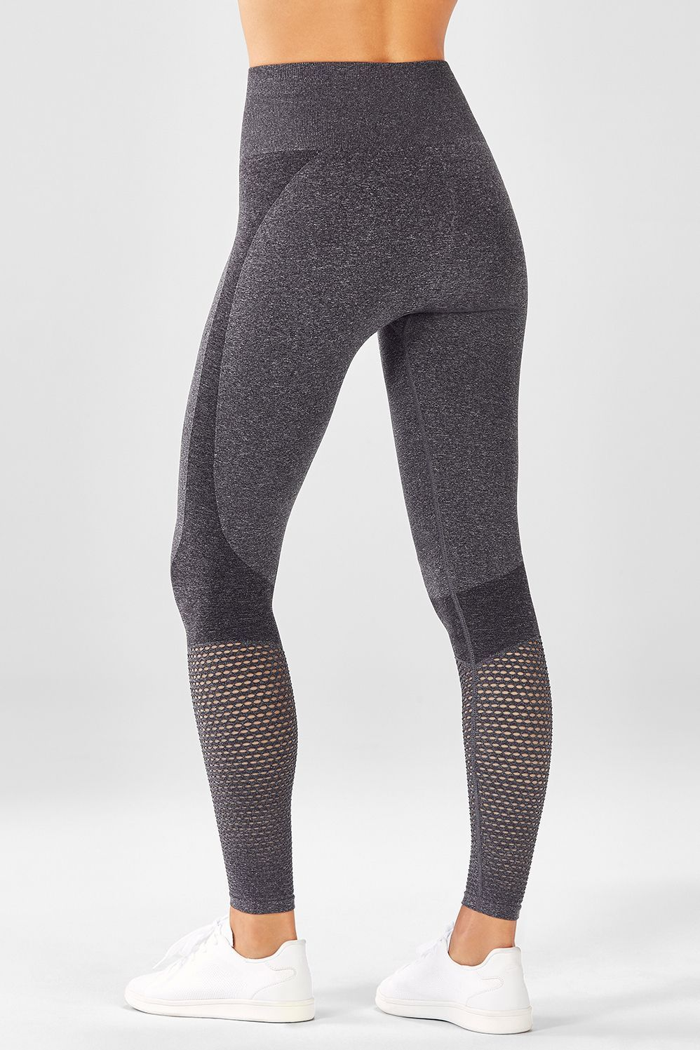 4229e0a370 Seamless High-Waisted Mesh Legging in 2019 | fabletics | Mesh ...