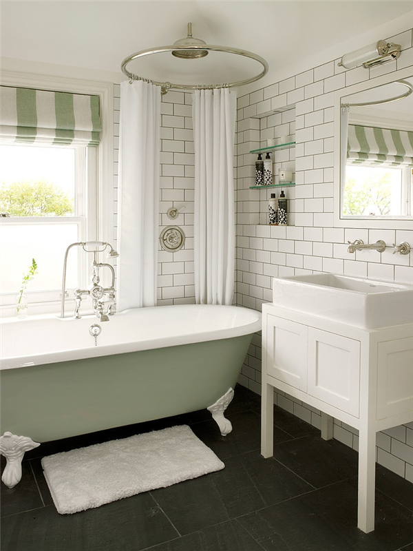 Decor Inspiration Wimbledon Residence By Leivars Green Bathroom Bathrooms Remodel Victorian Bathroom