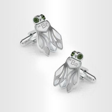 Fly Cufflinks :-) http://www.breakingbadstore.com/fly-cufflinks/details/28761343?cid=social-pinterest-m2social-product_country=US=share_campaign=m2social_content=product_medium=social_source=pinterest $29.95