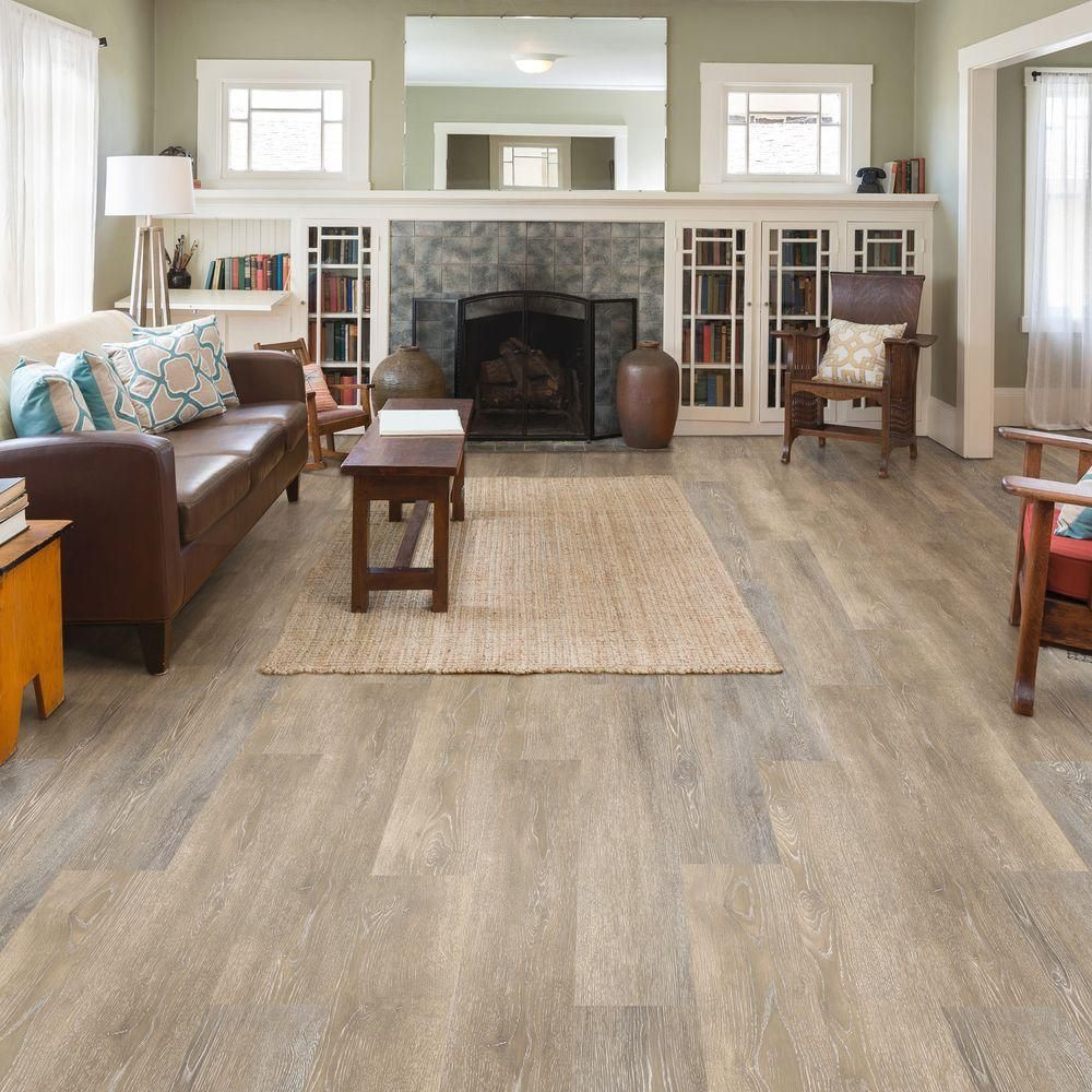 Allure ISOCORE Multi Width X 476 In Prairie Oak Light Luxury Vinyl Plank Flooring 1953 Sq Ft Case