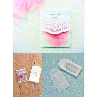 mini sachet glassine cadeau invite