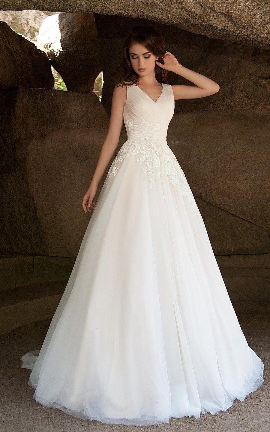 26++ Sleeveless wedding dresses v neck information