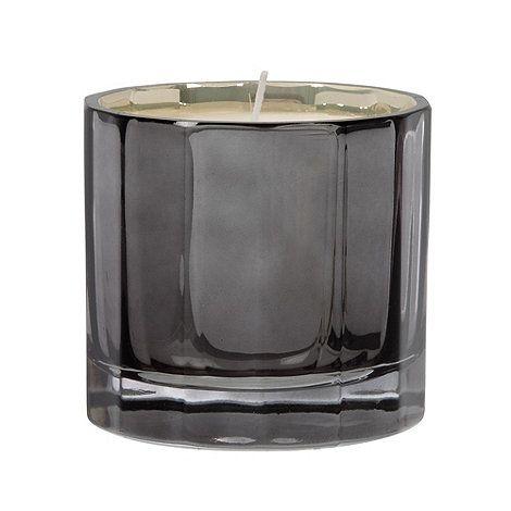 Debenhams Dark grey faceted reflective candle- at Debenhams.com