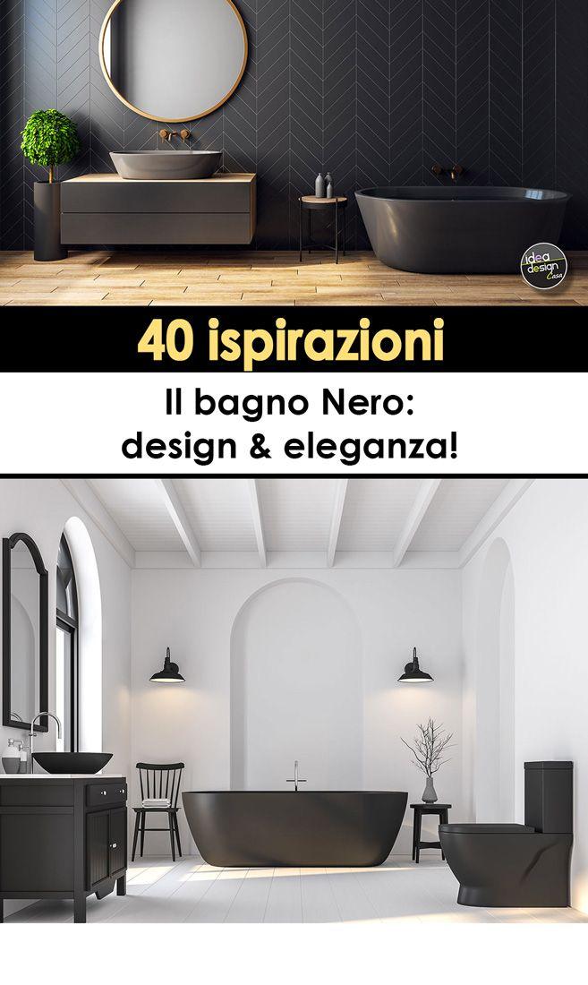 Photo of Il bagno nero: design ed eleganza! Lasciati ispirare
