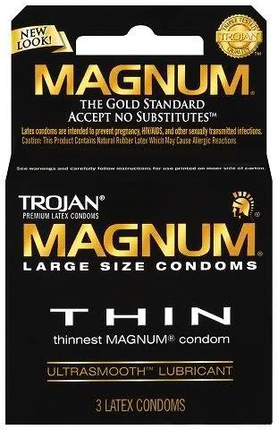 Common Sense Rules Common Sense Rule 35 Condoms Extra Large Condoms Magnum Bareskin