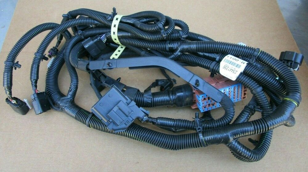 oem gm wiring harness details about gm oem wiring harness 2014 2015 silverado sierra  details about gm oem wiring harness