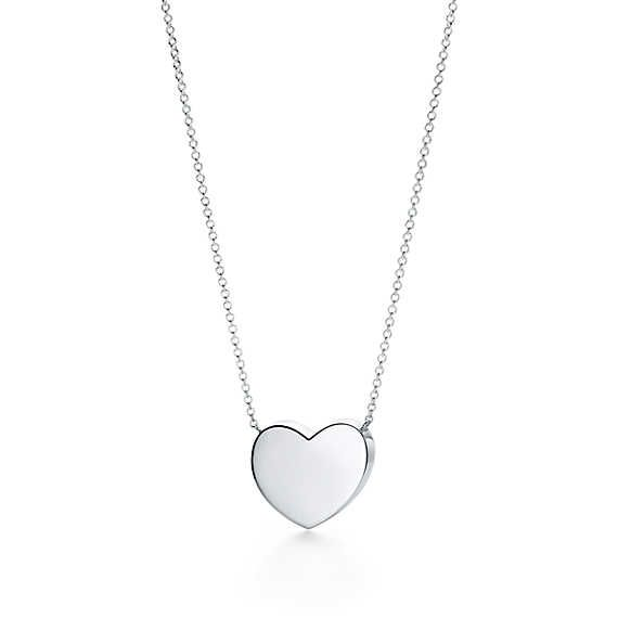 edcb94d691bf7 Paloma Picasso®:Modern Heart Pendant | wish list | Tiffany necklace ...