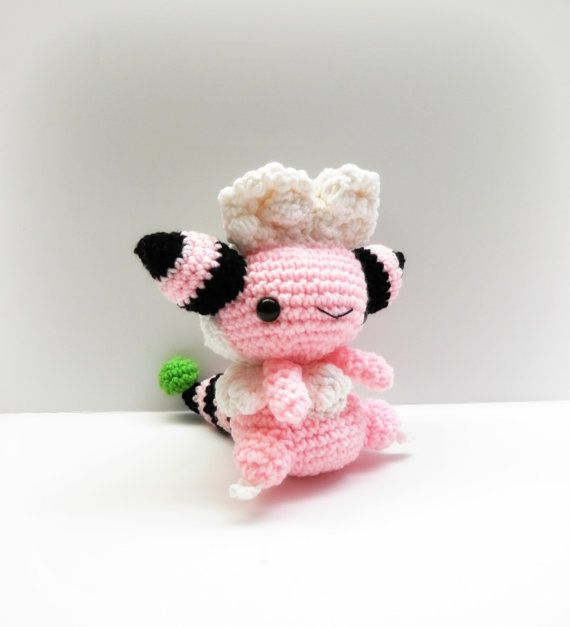 Crochet Flaaffy Inspired Chibi Pokemon от MissJennysCrochet, $25.00 ...