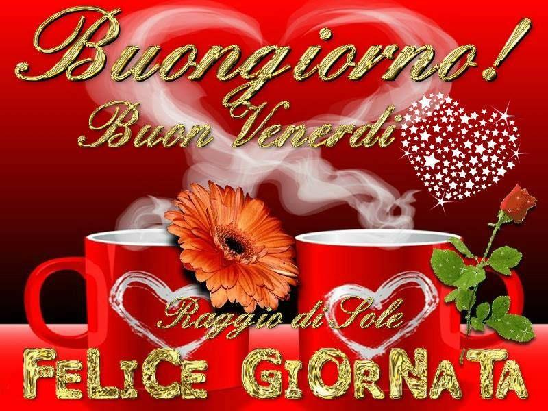 Buon venerdi buongiorno pinterest for Buongiorno divertente sms