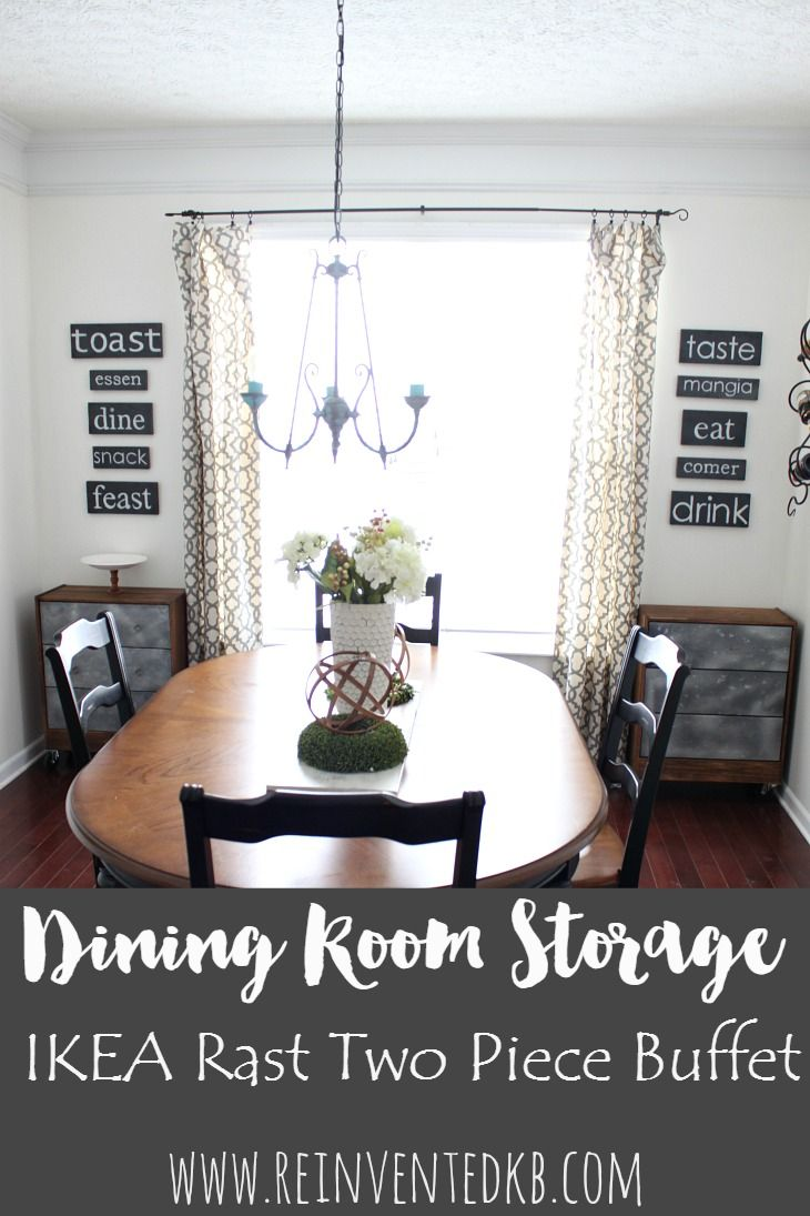 Dining room storage introducing the two piece buffet dining room