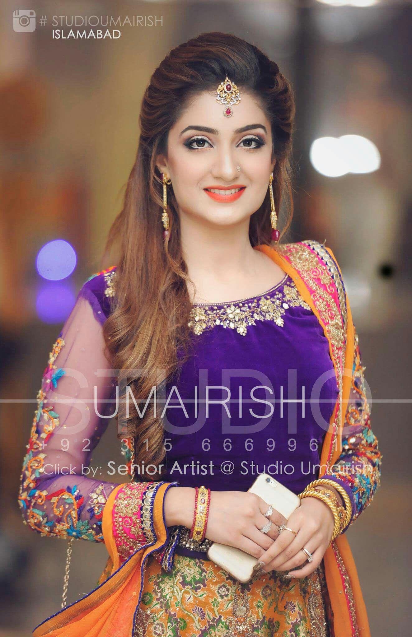 love the makeup | makeup crush | bridal hairdo, indian