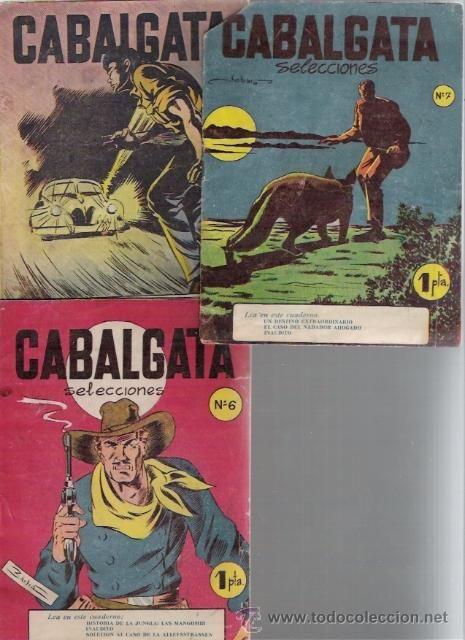 CABALGATA SELECCIONES LOTE DE 3 .N.6-7-9