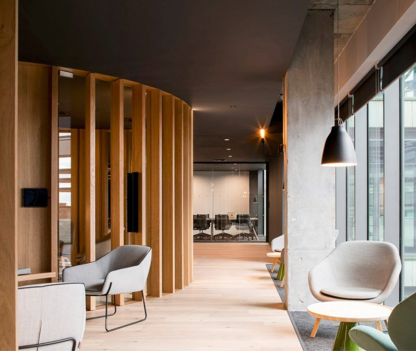 Slack's European headquarters eschews bright colours of tech start-up  offices