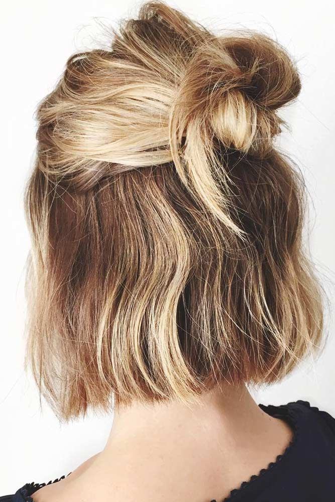 Cute Short Hairstyles For You To Look Gorgeous With The Least Of Efforts Hair Styles Short Hair Styles 5 Minute Hairstyles
