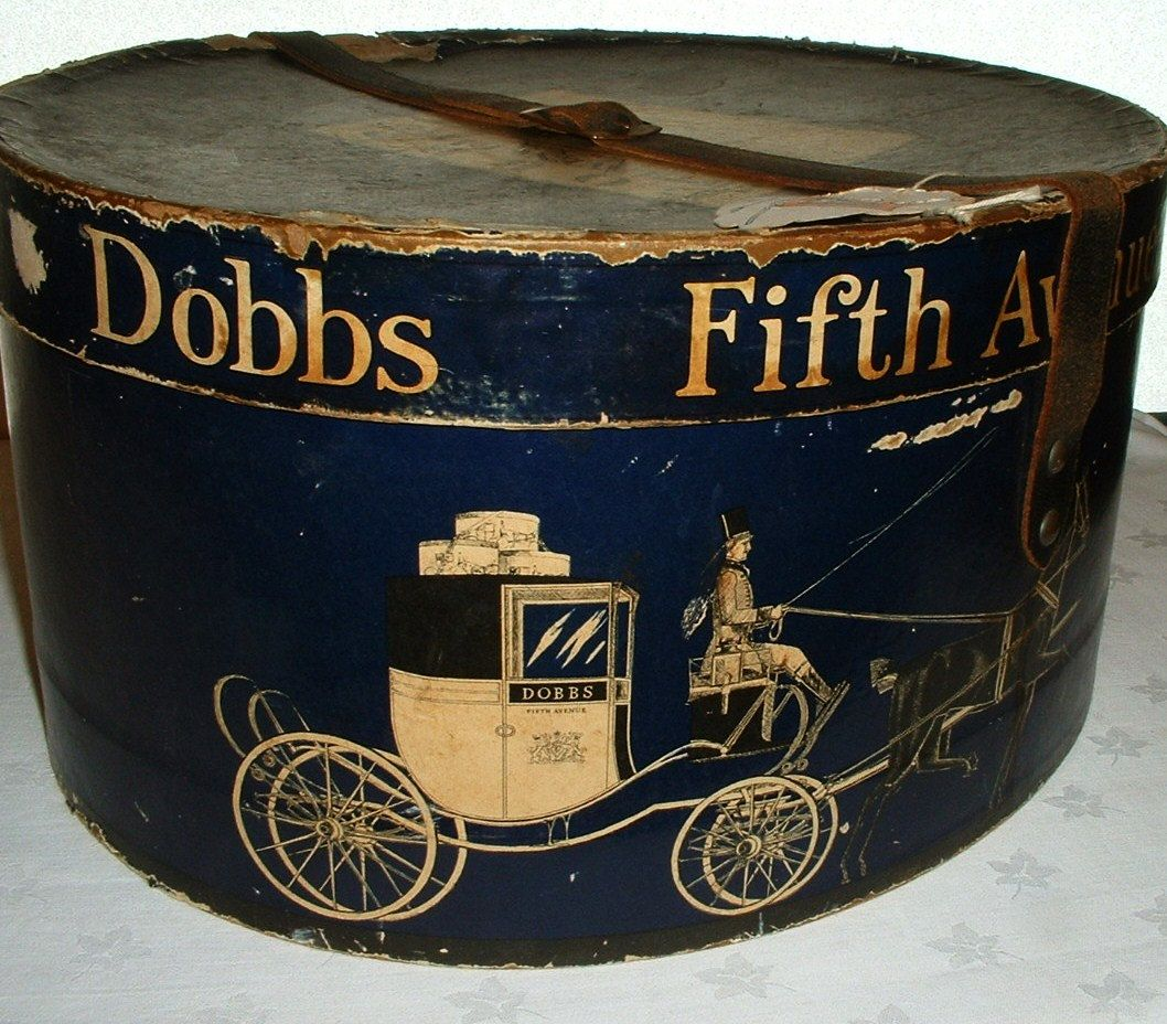 Craft hat boxes - A Vintage Hat Box Not Something I Think I Can Duplicate But Too Cool To