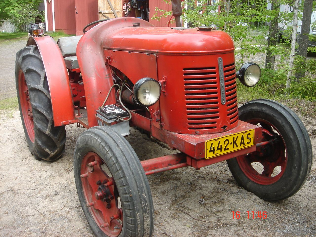 David Brown 1949 Two seater Vintage tractors, Tractors