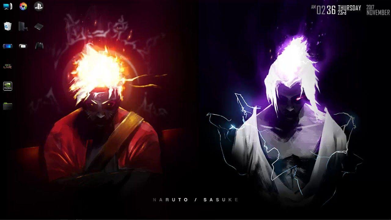 Naruto And Sasuke Live Wallpaper Iphone En 2020 Avec Images