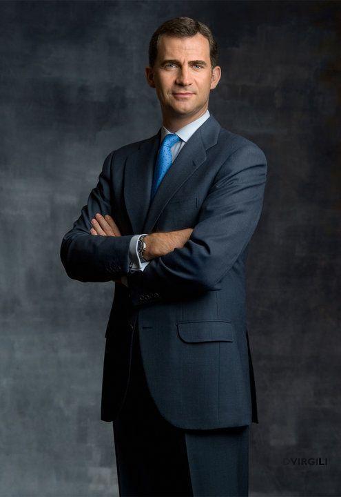 Foto Oficial de SAR el Príncipe de Asturias