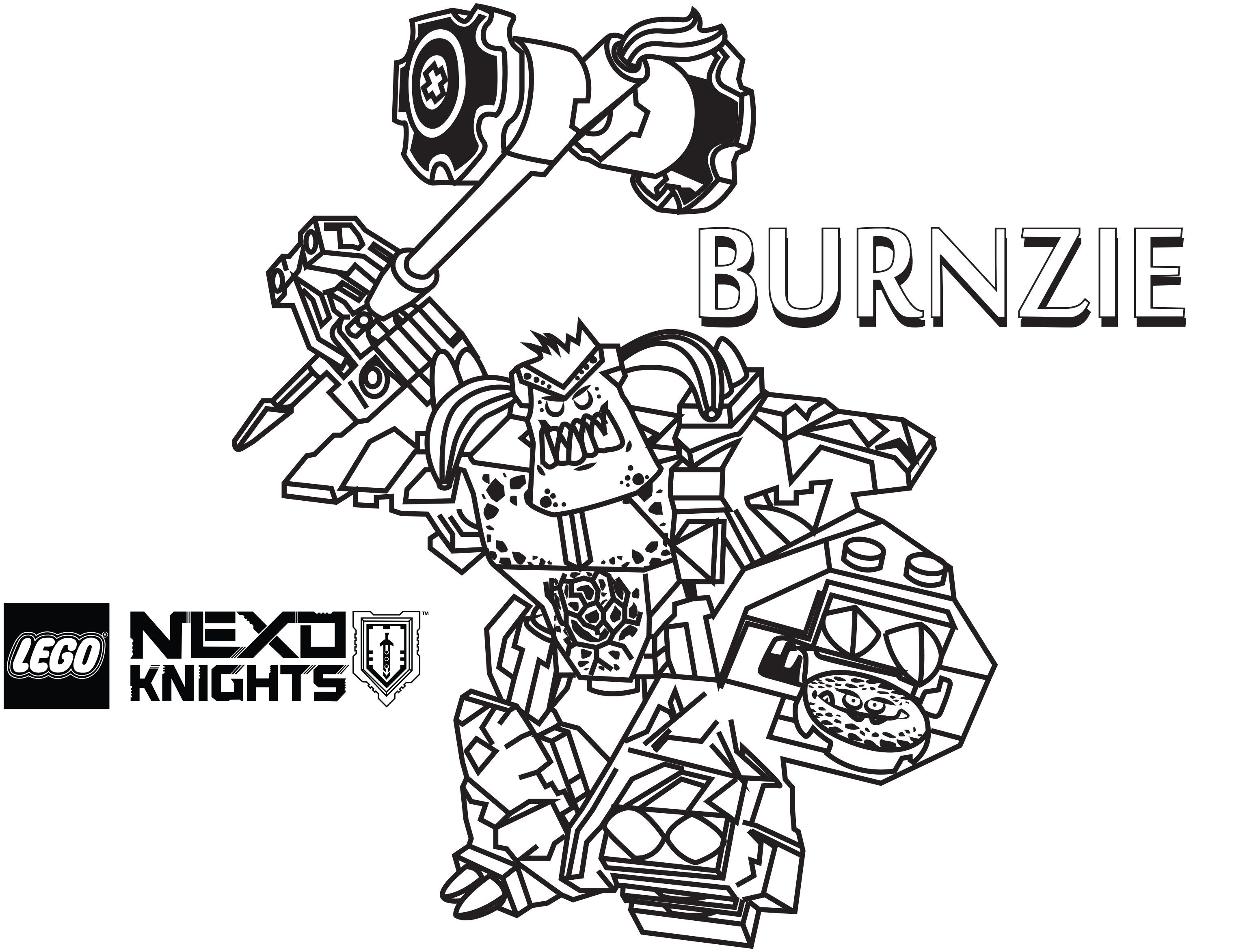 lego nexo knights coloring pages 2 - Knight Coloring Pages 2