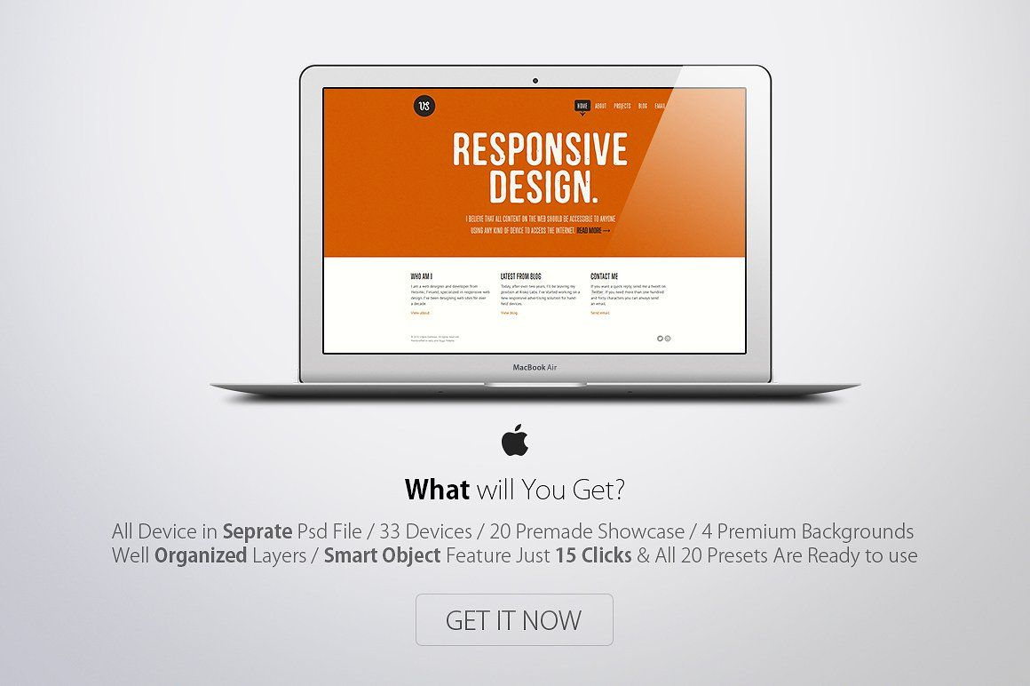 Apple Responsive Screen Mockups (With images) Responsive