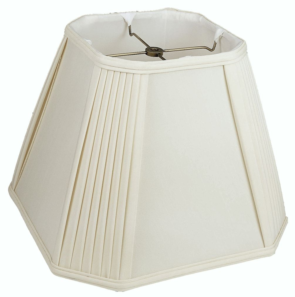 Pleated Corners Silk Square Lamp Shade Lamp Shade Square Lamp Shades Pleated Lamp Shades