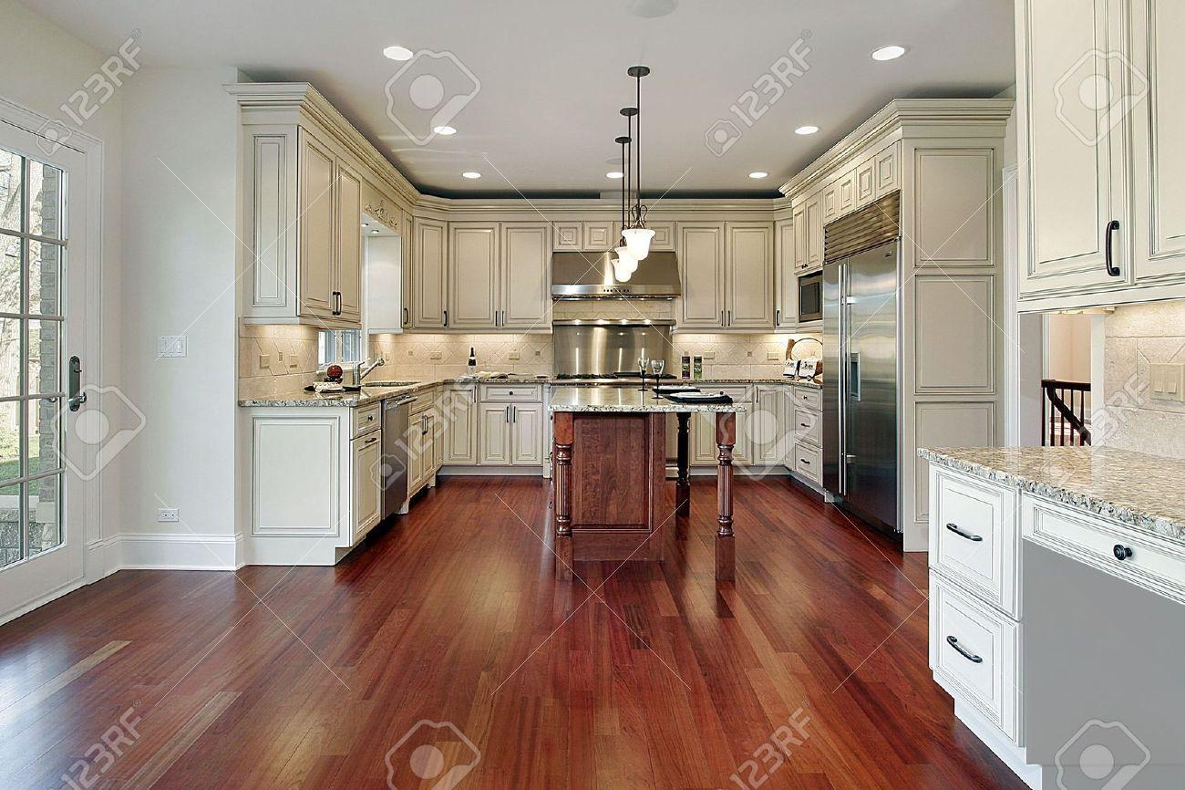 Cherry Wood Floor Kitchen Google Search Cherry Wood Floors Wood Floor Kitchen Kitchen Flooring