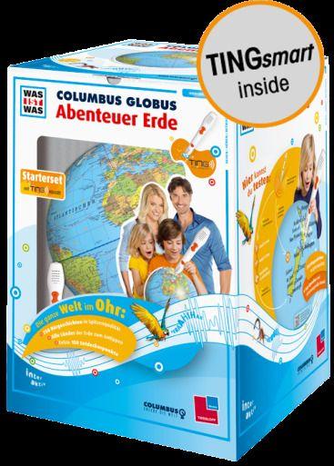 "TINGStarterset WAS IST WAS Columbus Globus ""Abenteuer"