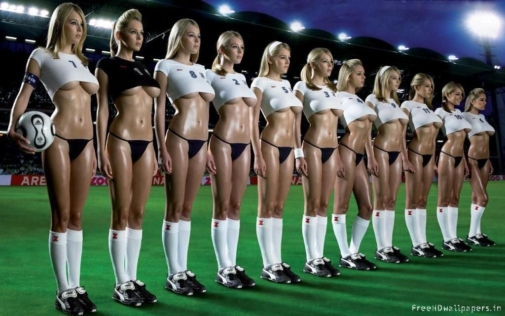 team soccer Hot girls