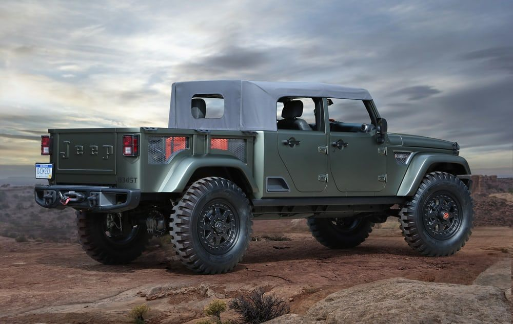 707 hp jeep trailcat prepped for 50th easter safari jeep concept wrangler pickup jeep wrangler pickup truck pinterest