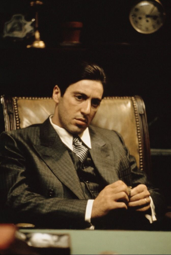 Al Pacino In The Godfather The Godfather Al Pacino