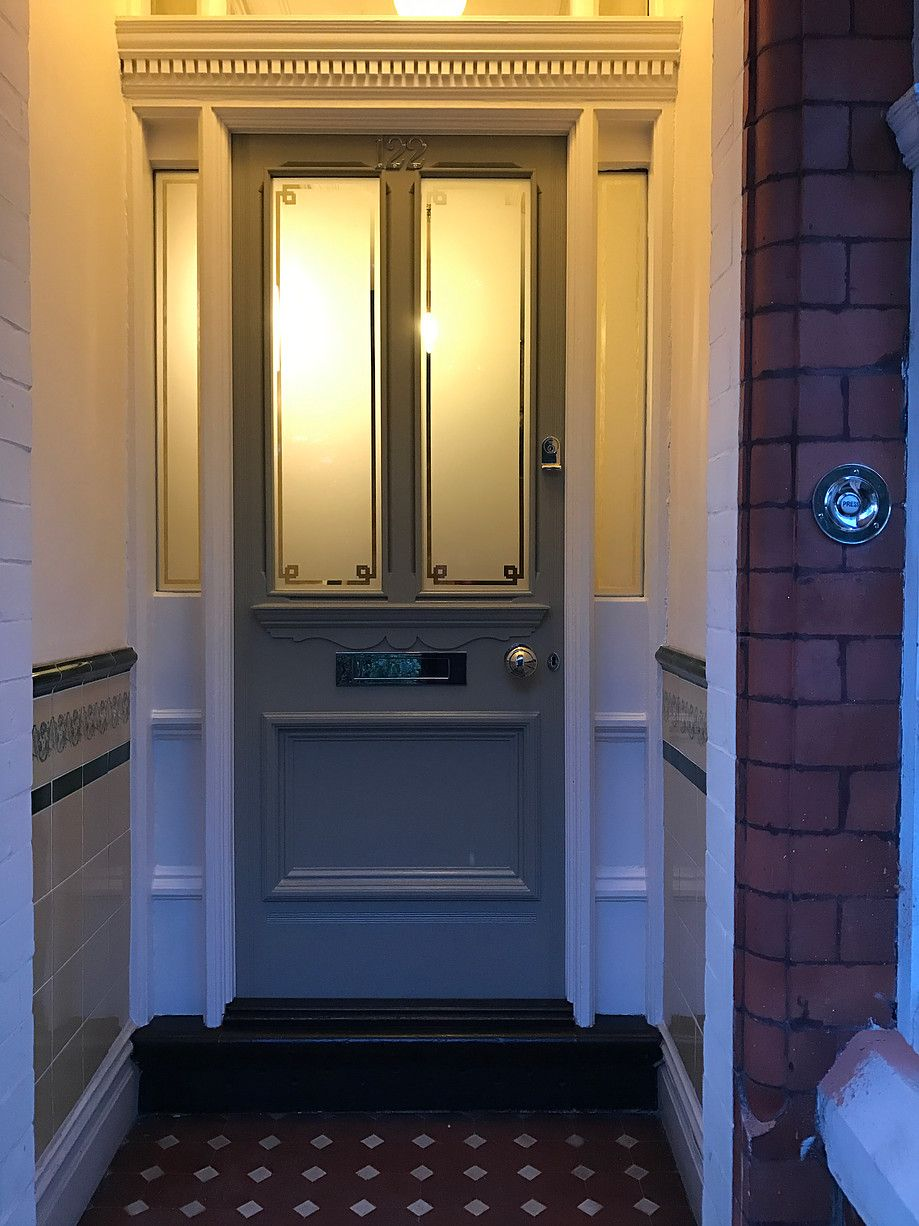 Restoration of Victorian front door in Warrington & Restoration of Victorian front door in Warrington | Door | Pinterest ...