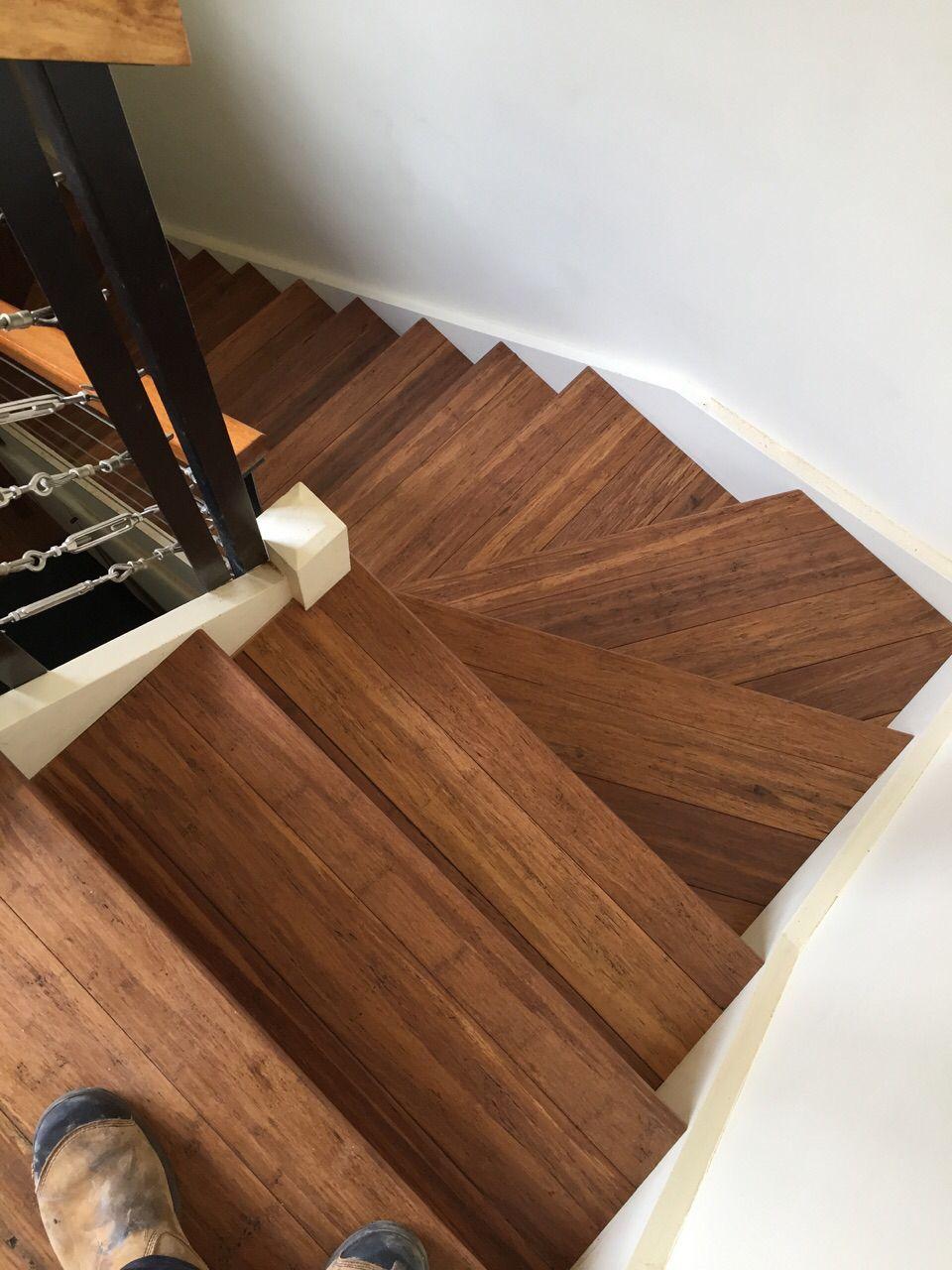 Embelton Kakadu Coloured Bamboo Flooring Finished Off With Solid