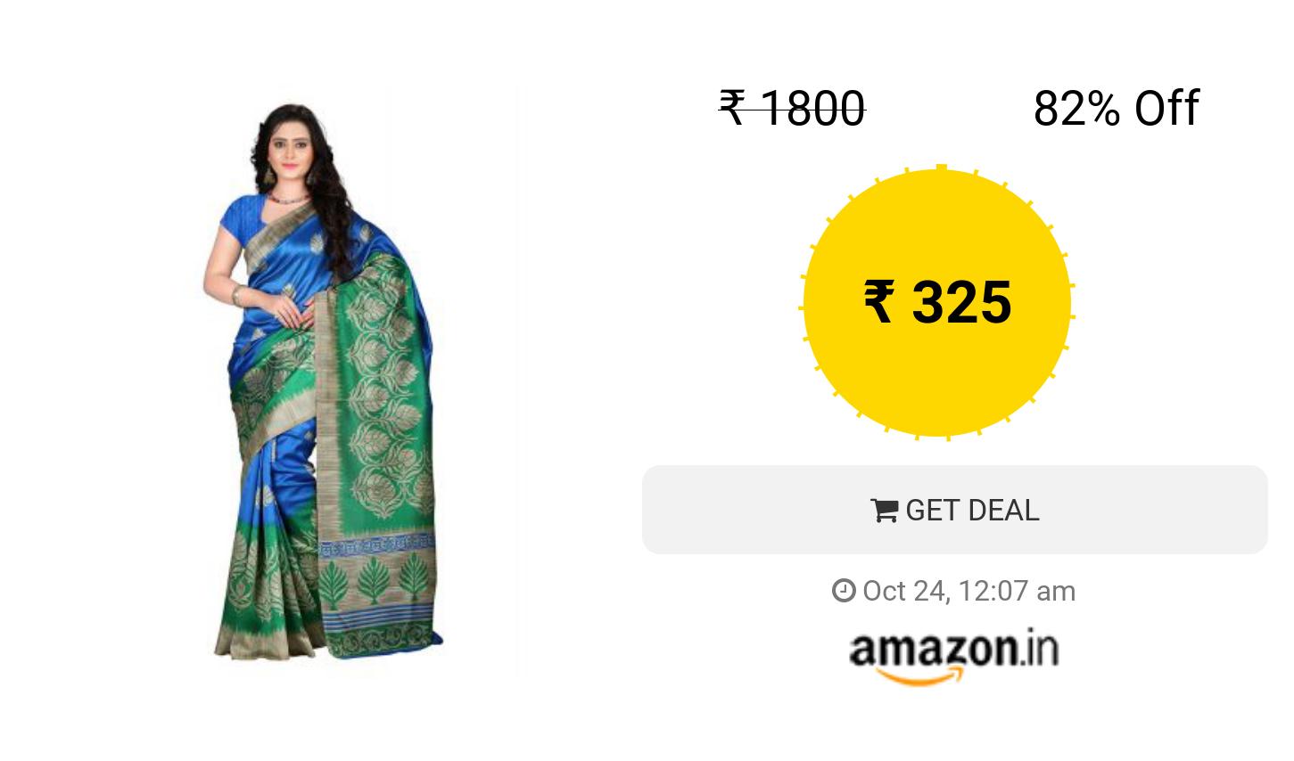 e5d443b01 E-VASTRAM Women s Art Mysore Printed Silk Saree (NS4C Royal Blue ...