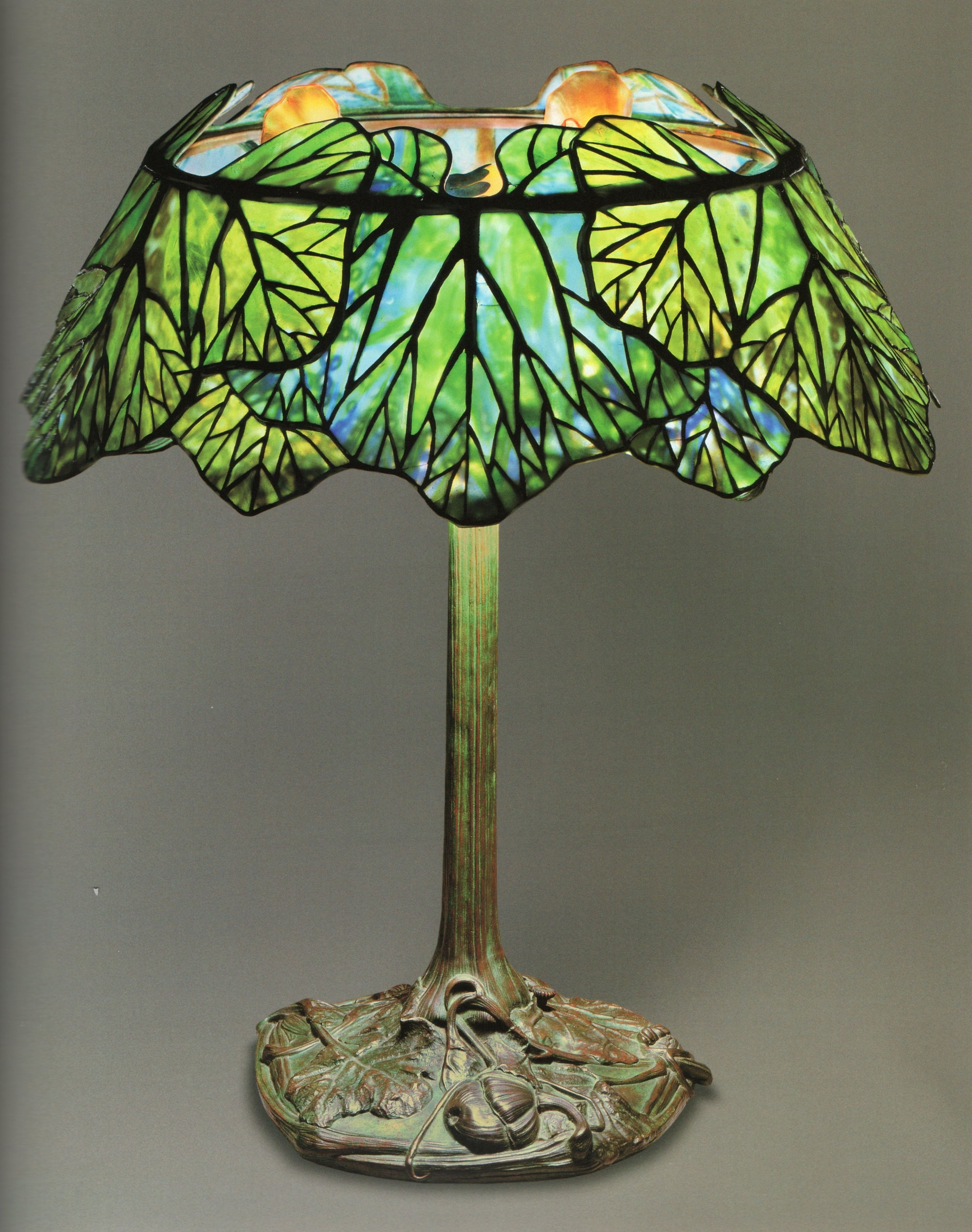 Glass Lamp Art Lct 032 Squash Lamp Shade Genuine Tiffany Lamps In 2019