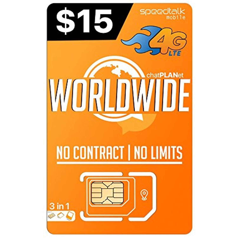 Prepaid worldwide 3 in 1 sim card gsm sim travel