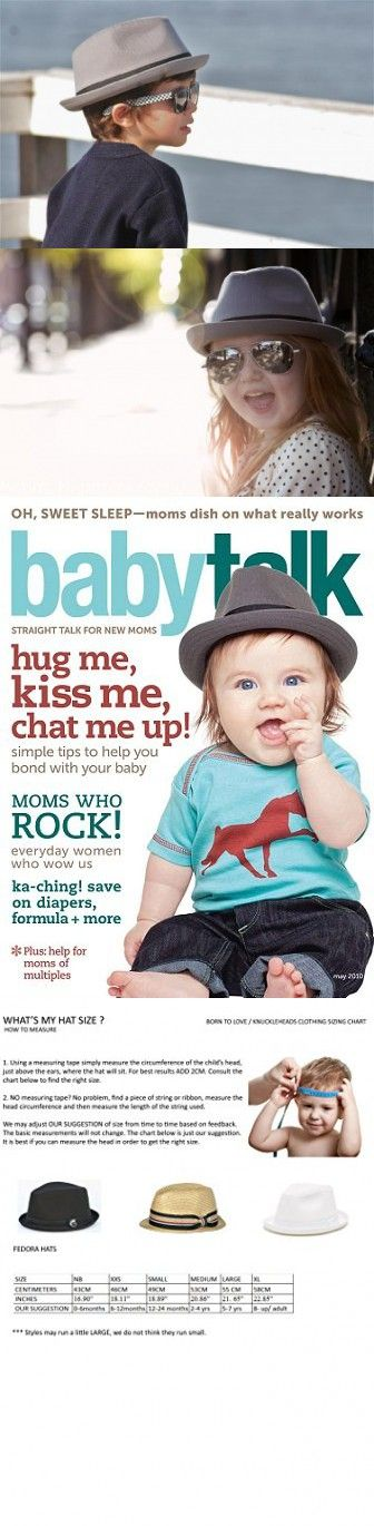e57623c92c5cc Born to Love - Baby Kids Gray Fedora with Black Band Trilby Summer ...