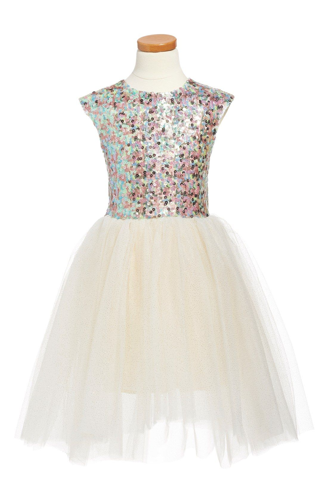 Halabaloo sequin princess sleeveless party dress toddler girls halabaloo sequin princess sleeveless party dress toddler girls little girls big ombrellifo Gallery