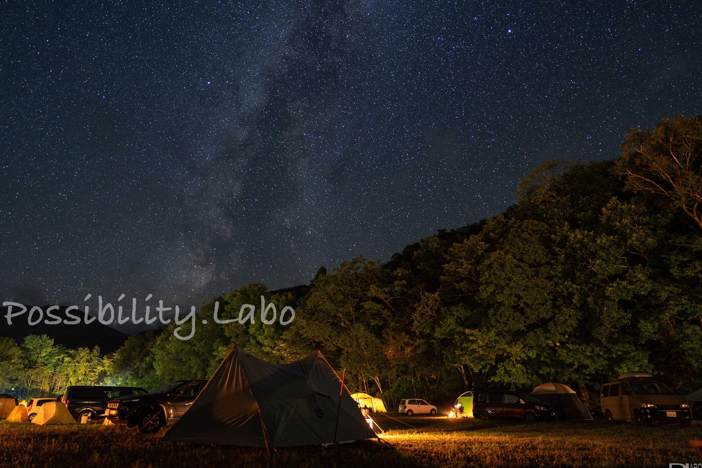 中札内村札内川園地キャンプ場は 車横付けokの無料フリーサイト 体験者レポート 星空が最高に綺麗でした Possibility Laboポジラボ 北海道 キャンプ キャンプ場 キャンプ