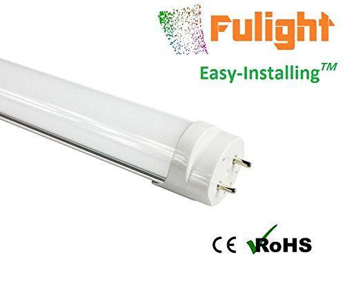 Fulight Easy-Installing¤ LED F15T8 Tube Light (Rotatable) -18 Inch ...