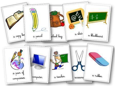 mat riel de classe anglais aux cycles 2 3 flashcards le ons dominos projets essayer. Black Bedroom Furniture Sets. Home Design Ideas