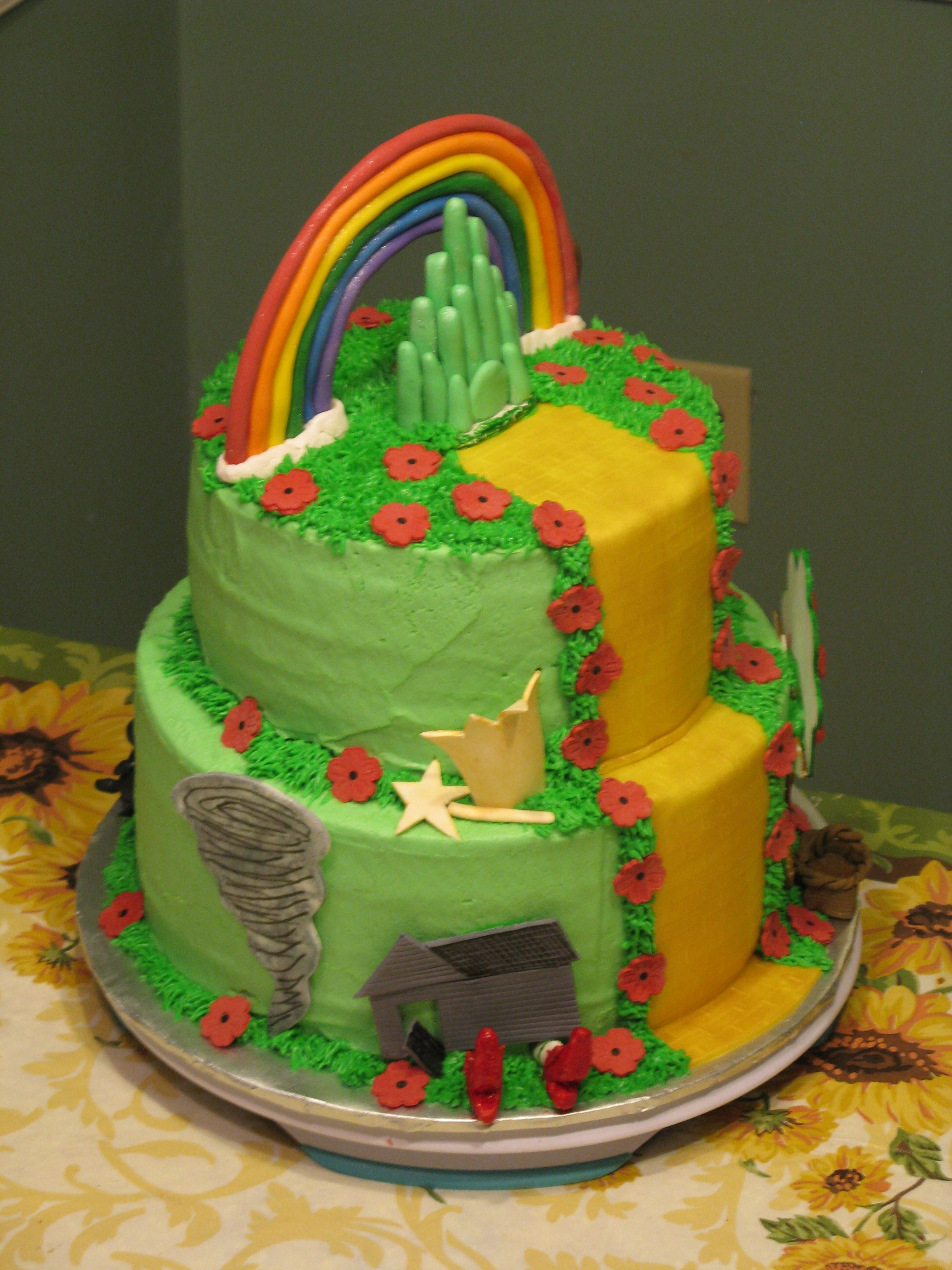 Cake Decorations For Wizard Of Oz : Wizard of Oz cake Party Girl Pinterest